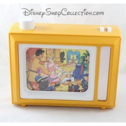 Vintage toy music TV DISNEY Cinderella television picture that scrolls