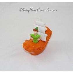 Figurine Peter Pan McDonald barco de Disney feliz comida McDo