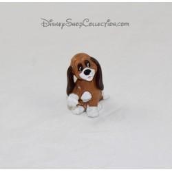 Figurita de perro Rouky BULLY Walt Disney Productions 1980 5 cm
