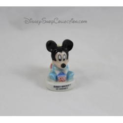 Porte bougie Mickey DISNEY fève Baby Mickey support céramique