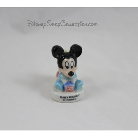 Mickey DISNEY bean candle holder baby Mickey ceramic holder