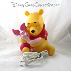 Lampe de chevet DISNEY Winnie l'ourson et Porcinet Pvc 27 cm