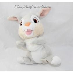 Bunny plush rabbit Pan Pan DISNEY NICOTOY white grey Panpan 18 cm