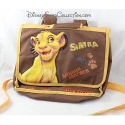 Cartable Simba DISNEY Le Roi Lion Hakuna Matata marron