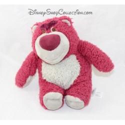 Peluche ours Lotso DISNEY STORE Toy Story rose senteur fraise 20 cm