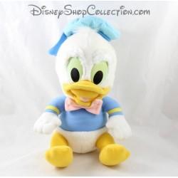 Peluche canard DISNEY Donald bébé vintage bleu blanc 28 cm