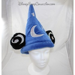 Chapeau Mickey DISNEYLAND PARIS Fantasia bleu étoiles et lune Disney 35 cm