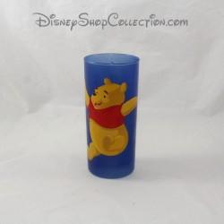 Verre haut Winnie l'ourson DISNEYLAND PARIS bleu Pooh Disney 14 cm