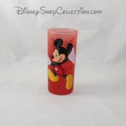 Top glass Mickey DISNEYLAND PARIS red Disney 14 cm