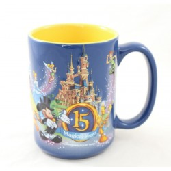 Disneyland PARIS 15th Anniversary Magic Years Relief Mug