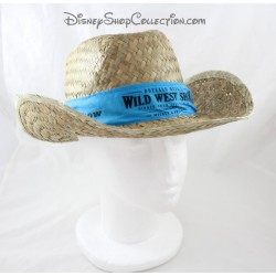 Buffalo Bill's DISNEYLAND PARIS Wild West show straw hat blue