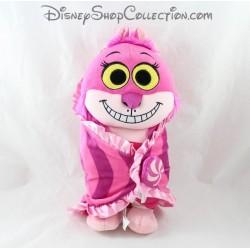 Peluche Cheshire chat DISNEY PARKS Alice au pays des merveilles bébé Disney Babies rose 30 cm