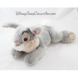 Plush Pan Pan rabbit DISNEY STORE elongated long hairs grey 32 cm