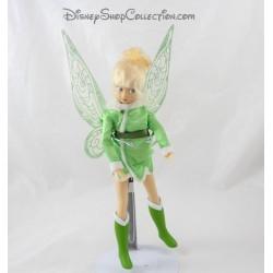 Muñeca de hadas Tinker Bell DISNEY STORE las hadas de invierno late alas 27 cm