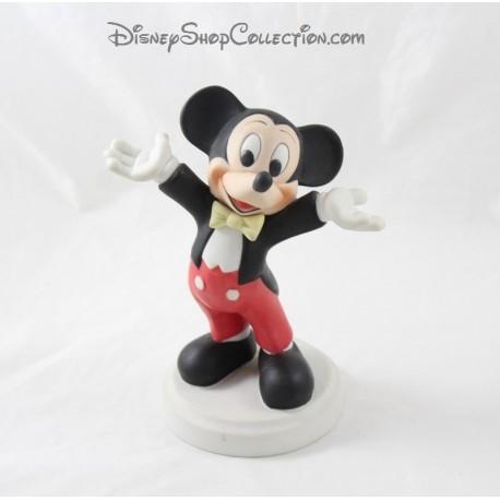 Figure Mickey DISNEY conductor porcelain biscuit 19 cm