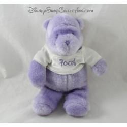 Plush Winnie the Pooh DISNEY STORE Pooh purple glitter glossy 20 cm