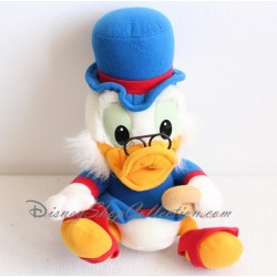 Peluche Picsou DISNEY oncle de Donald 26 cm assis