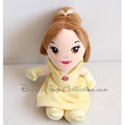 Poupée peluche Belle DISNEY NICOTOY La Belle et la Bête robe jaune 22 cm