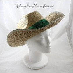 Buffalo Bill's DISNEYLAND PARIS Wild West Green Show Straw Hat