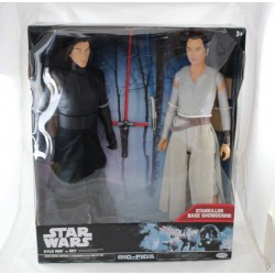 Big figurines Star Wars JAKKS Kylo Ren vs Rey base Showdown 50 cm