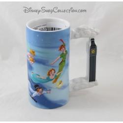 Mug haut Peter Pan DISNEY STORE scène film hanse Big Ben 15 cm