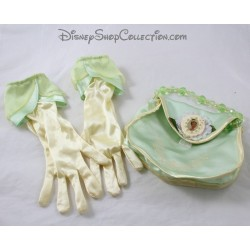 Set gloves and bag Tiana DISNEYLAND PARIS The princess and the frog disguise