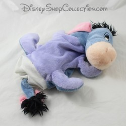 Peluche marioneta burro DISNEY STORE Bourriquet azul amigo Winnie el Pooh 24 cm
