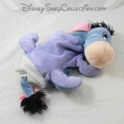 Peluche puppet donkey DISNEY STORE Bourriquet blue friend Winnie the Pooh 24 cm