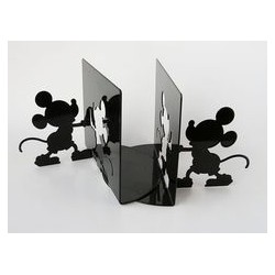 Serre book Mickey DISNEY black metal silhouette 14 cm