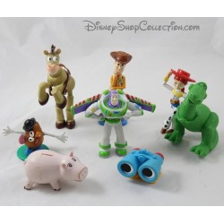 Lot of 8 Toy Story DISNEY PIXAR Buzz Woody Rex