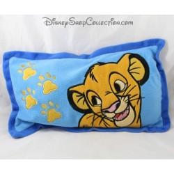 Coussin Simba DISNEY Le Roi Lion bleu rectangle 40 cm