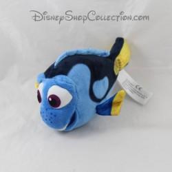 Peluche poisson NICOTOY Disney Le Monde de Dory bleu 19 cm
