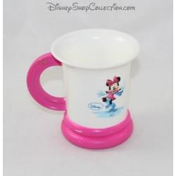 Mug plastique Daisy Minnie DISNEY rose blanc patinoire