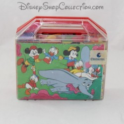 Cube puzzle CLEMENTONI Disney The band at Picsou wooden toy