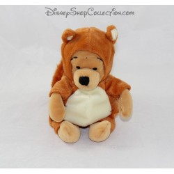 Winnie the Pooh DISNEY STORE disguised as a squirrel 20 cm