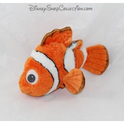 Peluche poisson Nemo DISNEY STORE Le Monde de Nemo poisson clown 22 cm