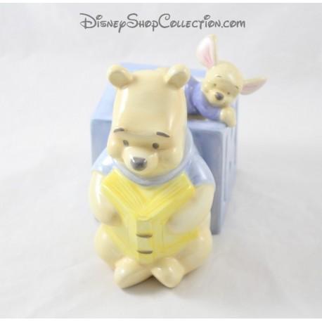 Winnie the Cub DISNEY STORE ceramic cube ABCD 15 cm