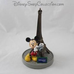 Figurine résine Mickey DISNEYLAND PARIS Tour Eiffel appareil photo Disney 20 cm