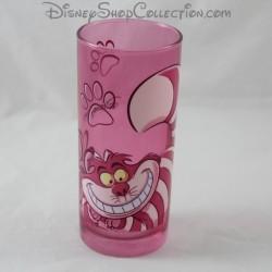 Cheshire gato vidrio DISNEYLAND PARIS Alicia en el país de las maravillas rosa Disney 13 cm