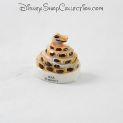 Snake Bean Kaa DISNEY The book of the ceramic jungle 3 cm