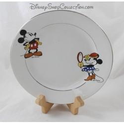 Assiette Mickey et Minnie WALT DISNEY Faïence d'Onnaing vintage année 30