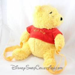 Sac à dos peluche DISNEYLAND PARIS Winnie l'ourson jaune Disney 40 cm