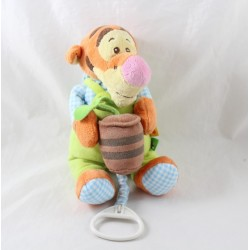 Musical towel Tigger DISNEY NICOTOY overalls flower pot