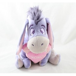 Stuffpeluche Bourriquet DISNEY PTS SRL pink xoxo heart 28 cm