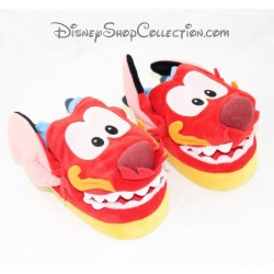 Mushu DISNEYLAND PARIS Mulan red child shoes size 24/26 Disney