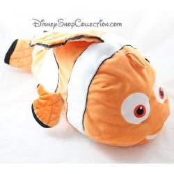 Peluche range pyjama Nemo DISNEY poisson clown orange 45 cm