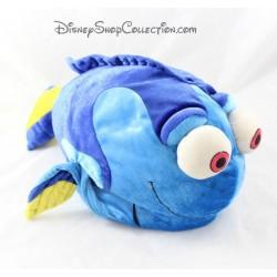 Peluche poisson Dory DISNEY STORE Le Monde de Dory bleu 40 cm