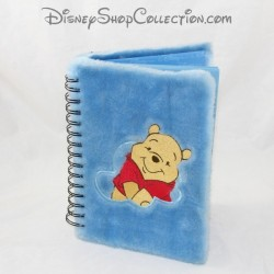 Notebook Winnie the Pooh DISNEY STORE blue long haired