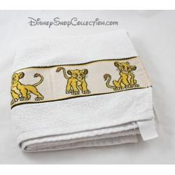 Serviette de toilette Le Roi Lion DISNEY Simba lion serviette de bain