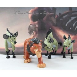 Figures The Lion King DISNEY Scar and the Banzaï Hyenas Ed and Shenzi